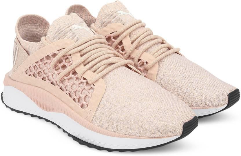 b5fbf6fd26a53b Puma TSUGI NETFIT evoKNIT Cameo Rose-Puma Whi Sneakers For Women (Beige)