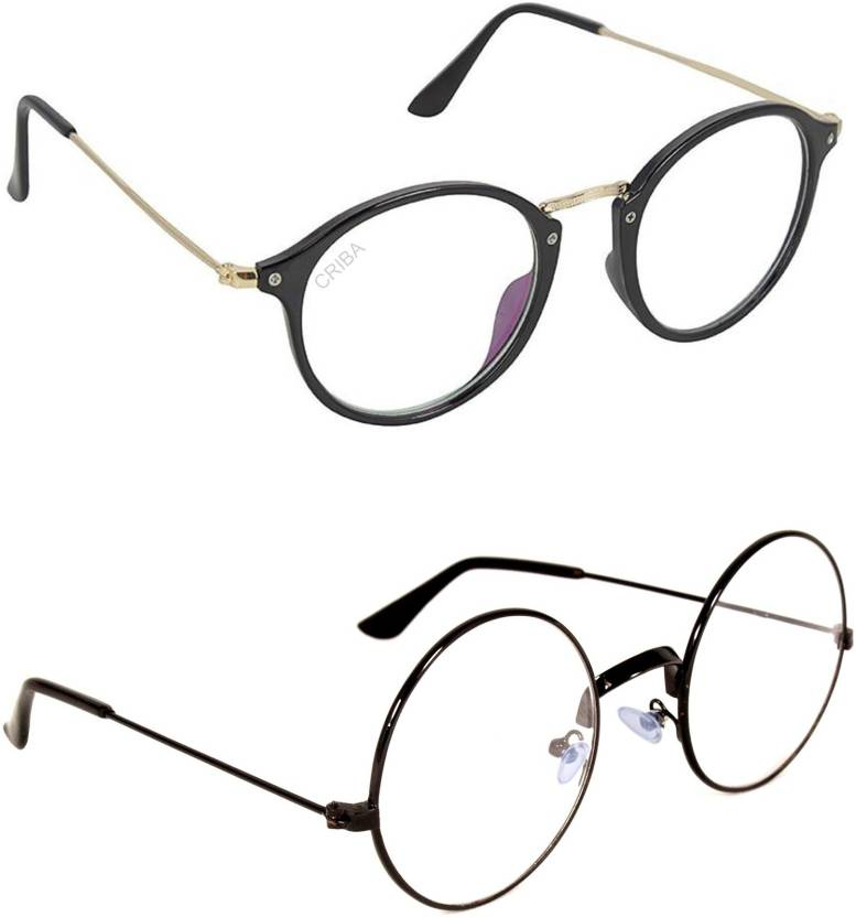 f9ce01680732 Buy Criba Round, Oval Sunglasses Clear, Clear For Men & Women Online ...