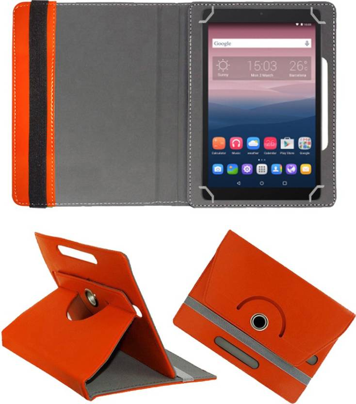 Fastway Flip Cover for Alcatel OneTouch Pixi3 10 Tablet Orange, Cases with Holder