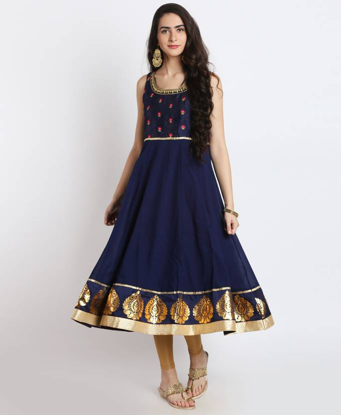 3bcc570c71 FBB - Srishti Women Embroidered Anarkali Kurta - Buy FBB - Srishti ...