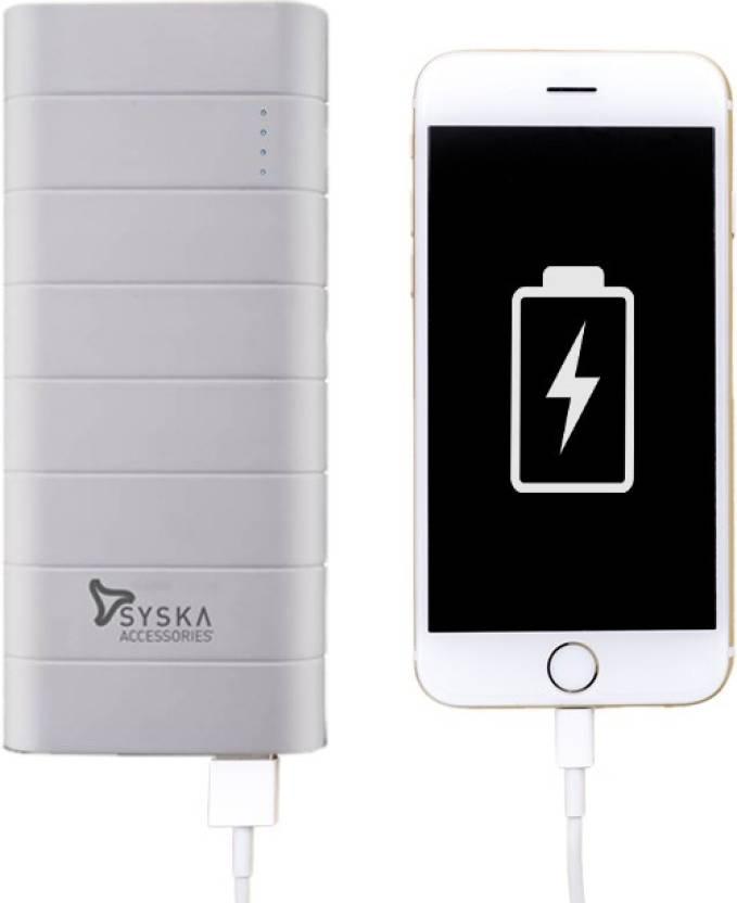 Syska 10000 MAh Power Bank (Power Boost 100)