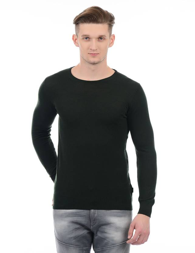 new style e64bf 07d1c Jack & Jones Round Neck Solid Men Pullover - Buy Jack ...