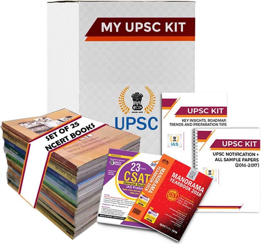 Complete UPSC Preparation Kit (English Medium) With 25 NCERT