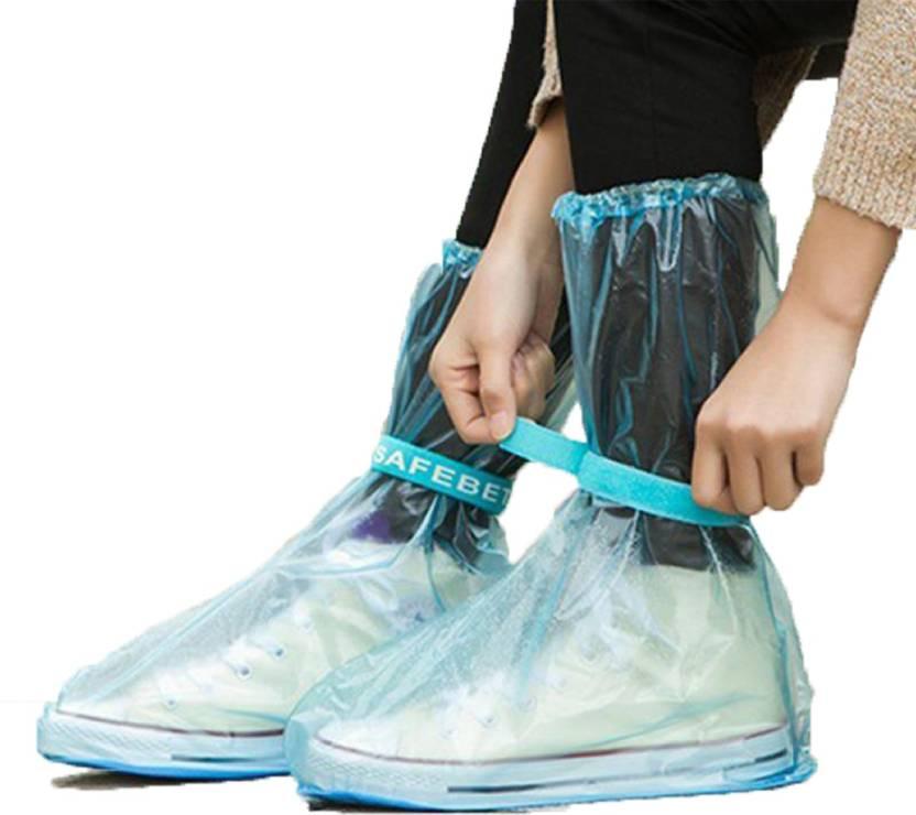 ed1a8dc5cf9ff Desi Rang waterproof rain shoe cover like rain coat size M (Indian size Men  7