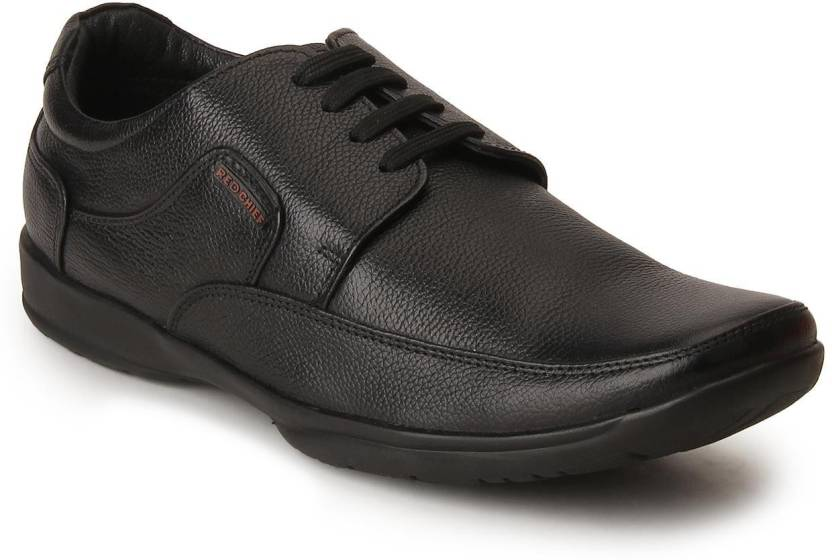 Red Chief Derby For Men Buy Black Color Red Chief Derby For Men