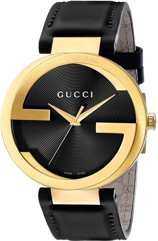 f641db144b4 GUCCI YA133212 Interlocking Latin Grammys Special Edition Leather Strap  Watch - For Men - Buy GUCCI YA133212 Interlocking Latin Grammys Special  Edition ...