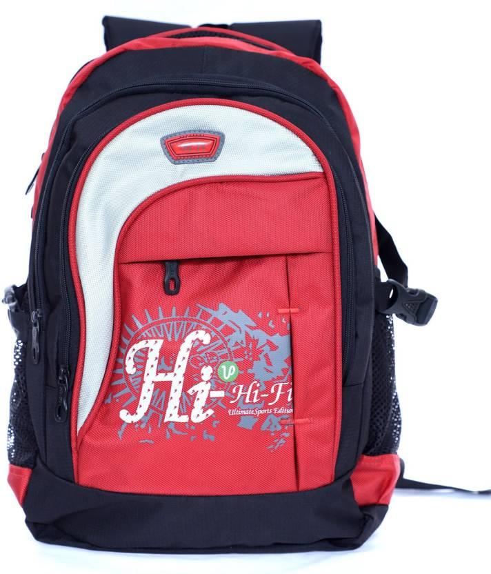 9cb085851bb1 Agatti Hi-Fi Youth 30 L Backpack Red - Price in India
