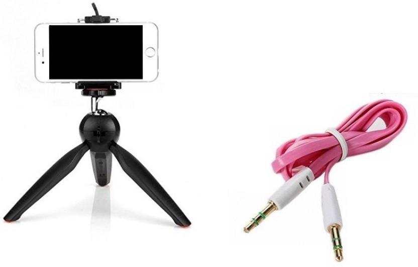 Rewy iPhone Tripod Stand, Mini Tripod, Table Tripod, Tabletop Tripod, Table  Top Stand, Mini Travel Phone Tripod, Cellphone Tripod for iOS and Android