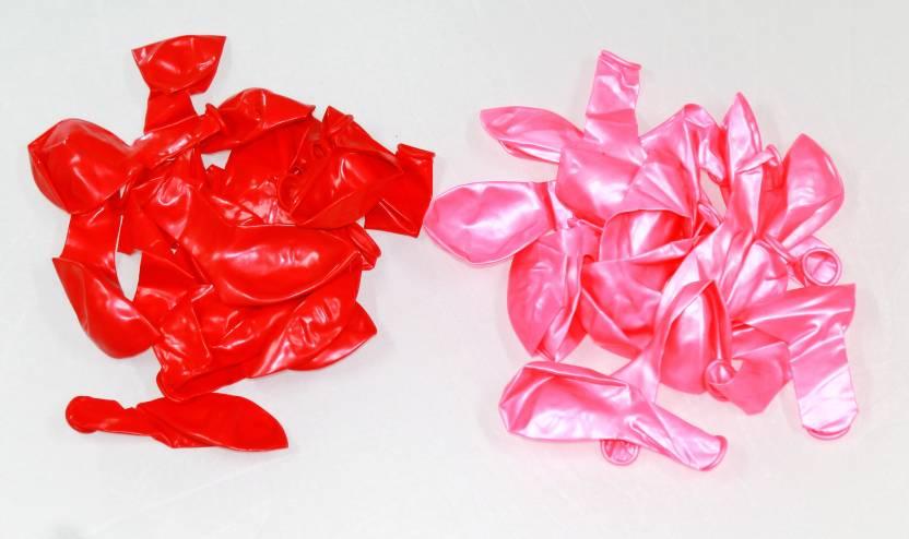 Flipkart com | zeonely mart Solid (red & light pink) colour