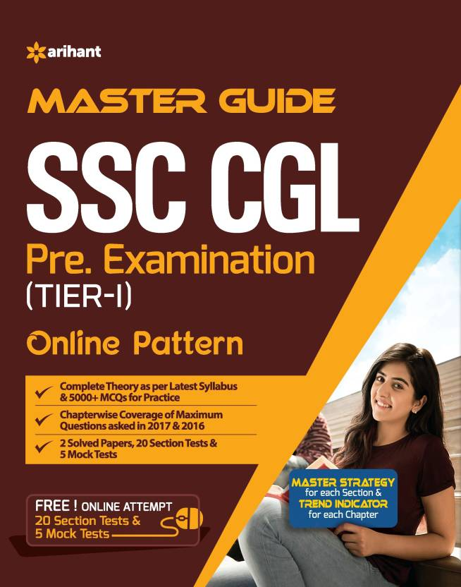 Master Guide SSC CGL Combined Graduate Level Tier-I 2018