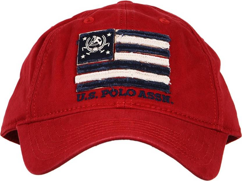 258f666e6de U.S. Polo Assn Solid Six Panel Baseball Cap - Buy U.S. Polo Assn Solid Six  Panel Baseball Cap Online at Best Prices in India