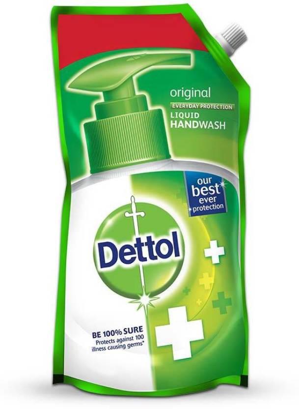 Dettol Original Liquid Hand Wash Refill  (750 ml, Pouch)