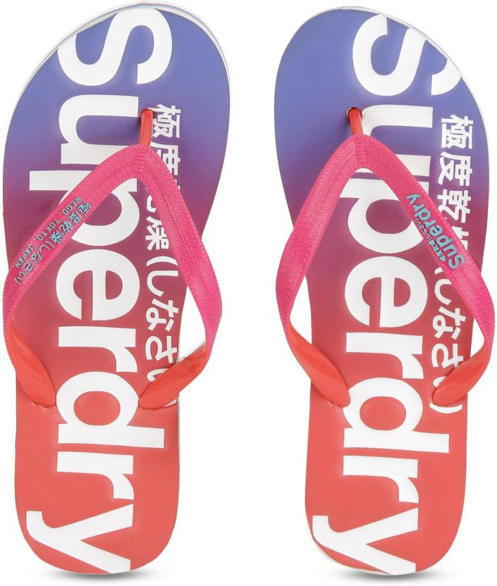 16a6c90ae3ef Superdry SUPERDRY FADED FLIP FLOP Flip Flops - Buy Pink Color Superdry  SUPERDRY FADED FLIP FLOP Flip Flops Online at Best Price - Shop Online for  Footwears ...