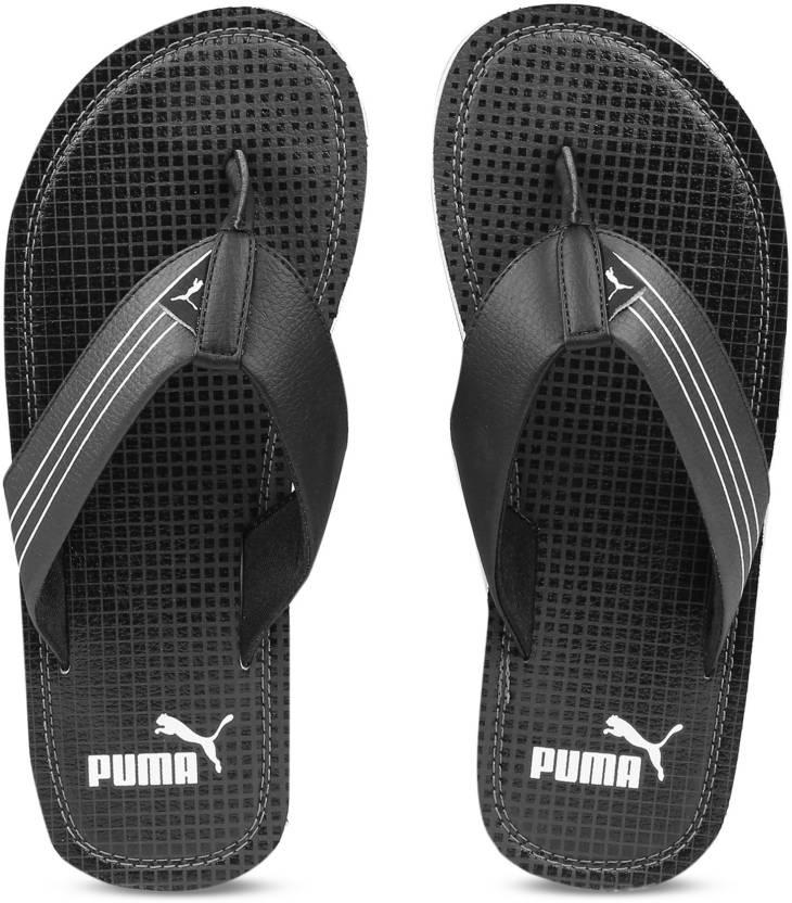 4af7b1798a4 Puma Ketava GU IDP Flip Flops - Buy Puma Black-Dark Shadow Color Puma Ketava  GU IDP Flip Flops Online at Best Price - Shop Online for Footwears in India  ...