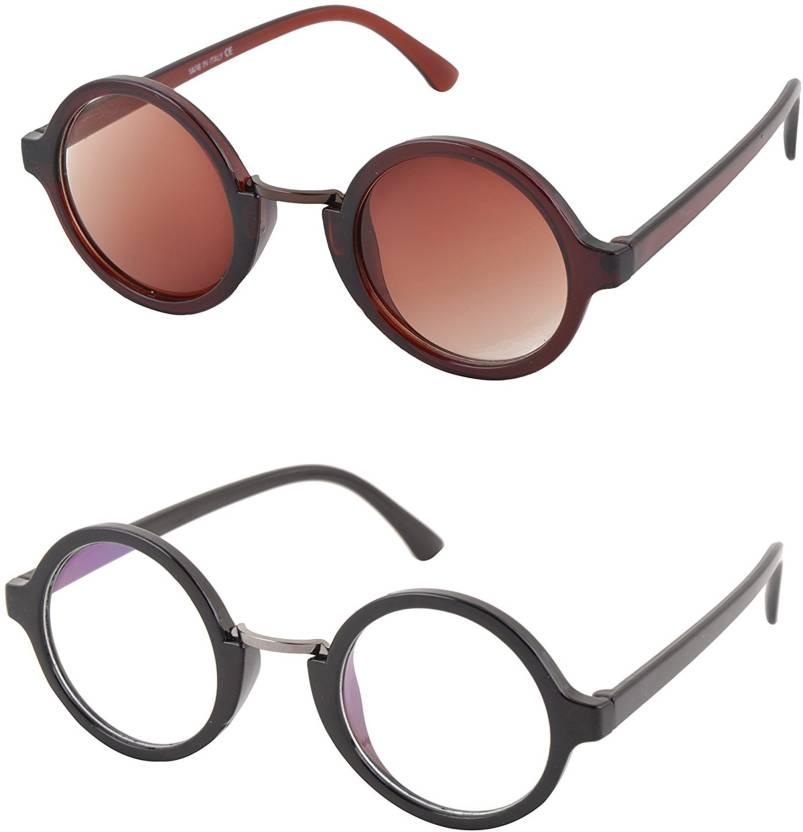 142641cf84 Buy Aventus Round Sunglasses Brown