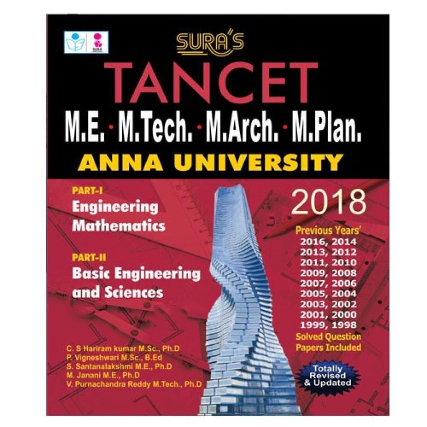 Tancet 2015 Book For Cse