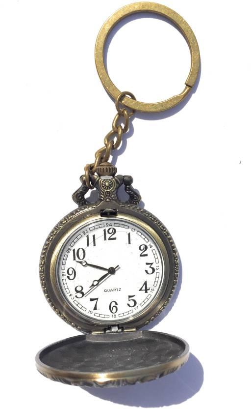 PRiQ Metal Antique Style Pocket watch Keyring   Keychain Key Chain Price in  India - Buy PRiQ Metal Antique Style Pocket watch Keyring   Keychain Key  Chain ... b3cd083b8