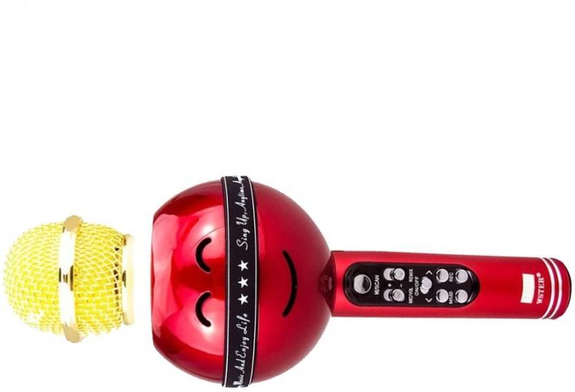 ALONZO Wireless Bluetooth Handhold Karaoke Microphone