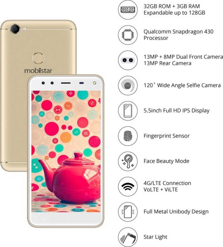 Mobiistar XQ Dual (Gold, 32 GB)
