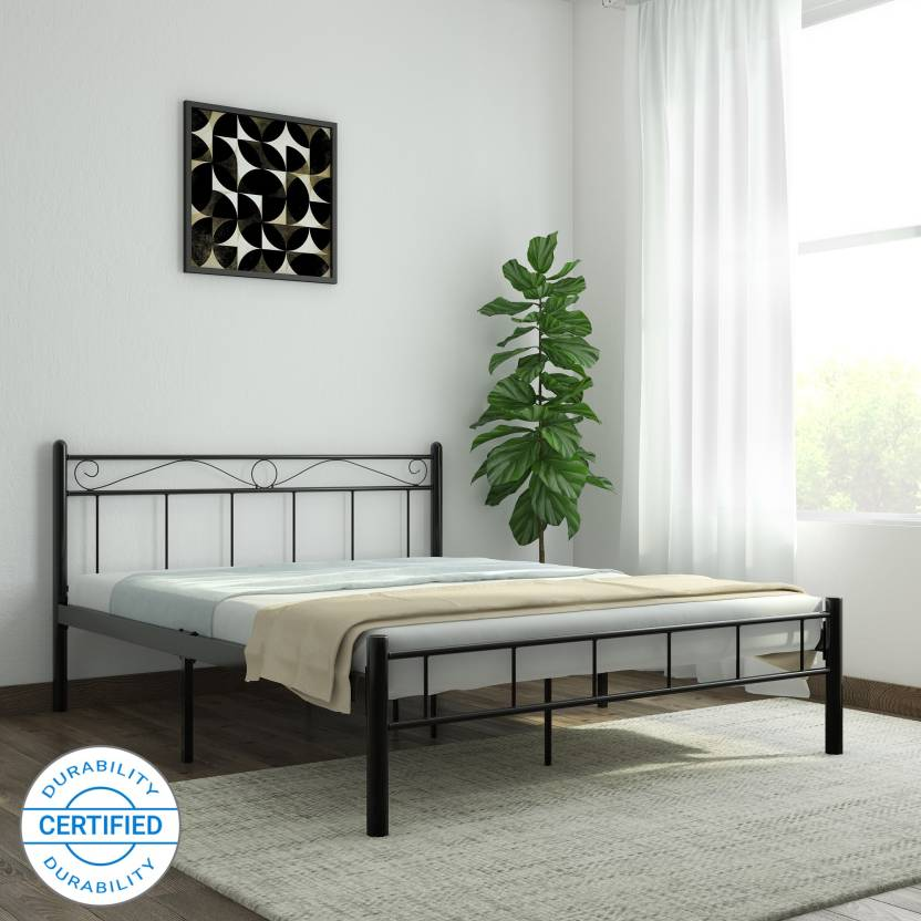 edfaa698dded FurnitureKraft London Metal Queen Bed Price in India - Buy ...