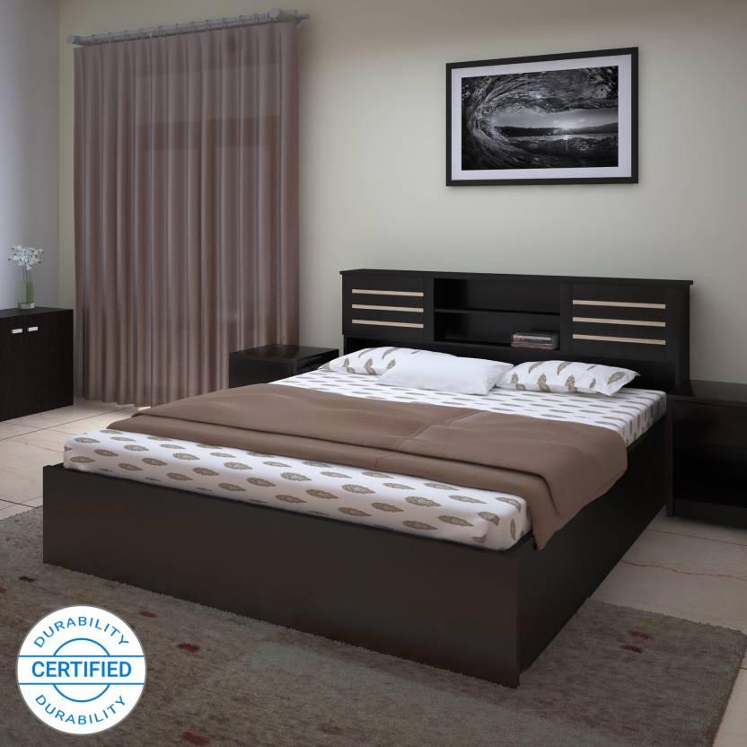 Perfect Homes by Flipkart Waltz Engineered Wood Queen Box Bed