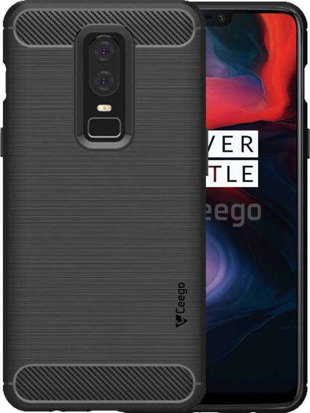 new arrival 9ffda 79d9f Ceego Back Cover for OnePlus 6
