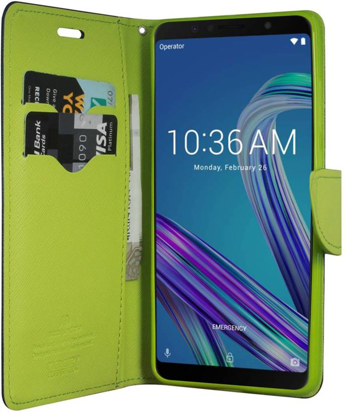 buy popular af0b4 ccc9b Hupshy Flip Cover for Asus Zenfone Max Pro M2 - Hupshy : Flipkart.com