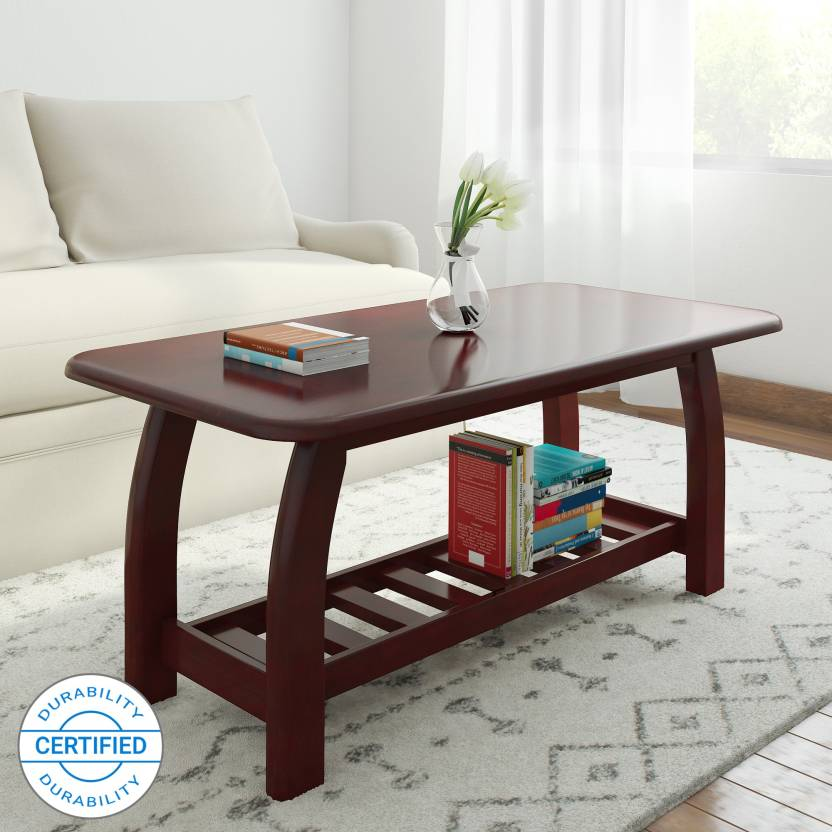 Woodness Malto Solid Wood Coffee Table Price In India Buy Woodness