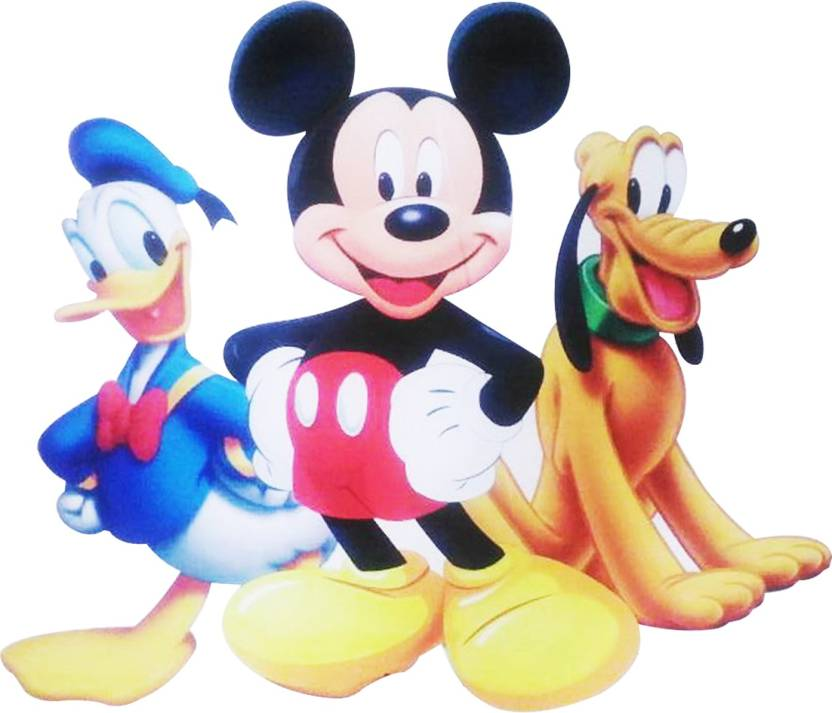 Party Propz Multicolor Mickey Mouse Cutout 2Ft For Birthday Decoration