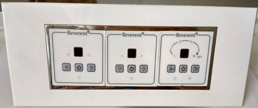 Reverent Remote Controlled Smart Switch Board 04 Light and