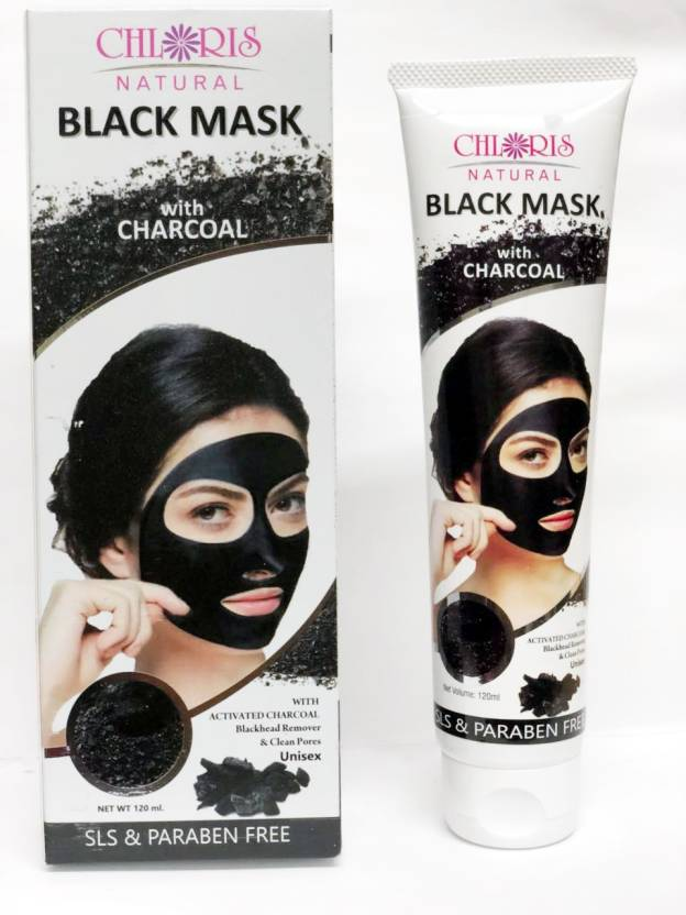 Chloris Natural Activated Charcoal Peel off Mask Black Head Remover