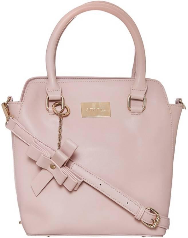 Buy Satya Paul Shoulder Bag Light Pink Online   Best Price in India ... ea33b1c120a3f