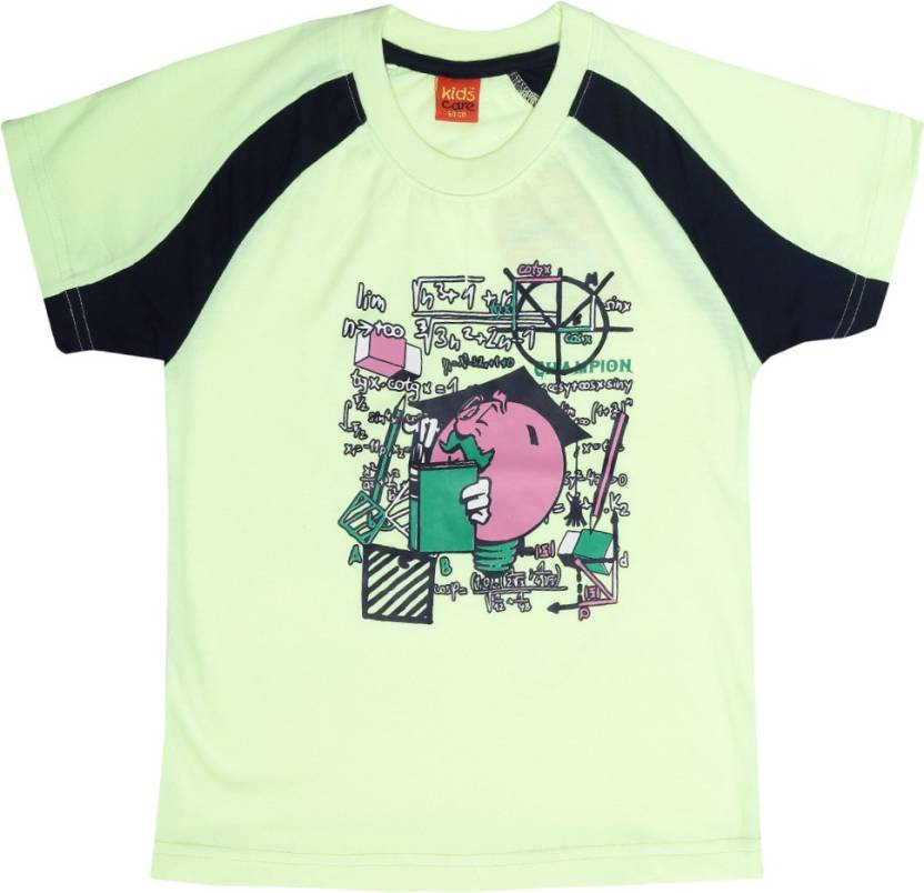 a2150937 Dollar Champion Kidswear Boys Printed Cotton T Shirt (Multicolor, Pack of 1)