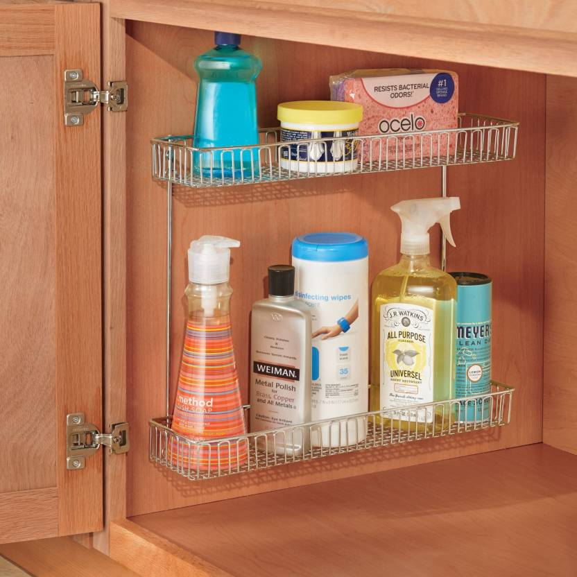 Strange Interdesign Classico Under Sink Organizer Steel Kitchen Rack Complete Home Design Collection Barbaintelli Responsecom