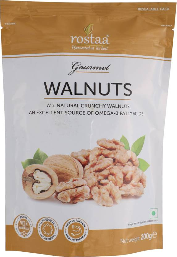 Rostaa Walnuts(200 g, Pouch)