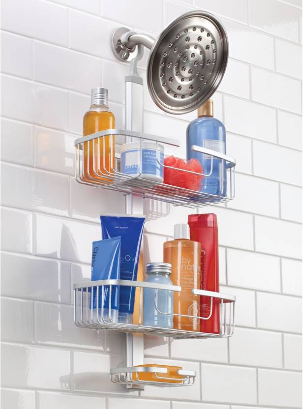 Interdesign Metro Rustproof Adjustable Bathroom Shower Caddy For