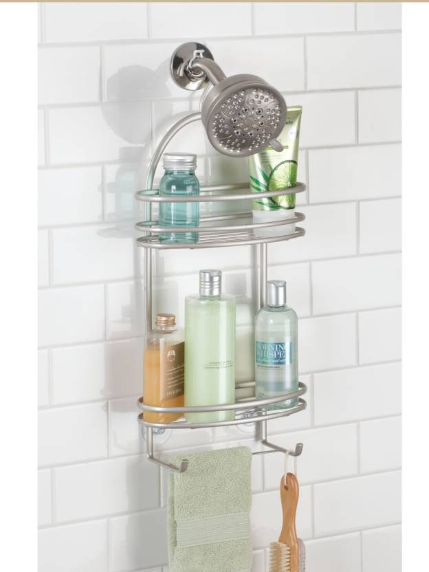 Interdesign Axis Bathroom Shower Caddy For Shampoo Conditioner