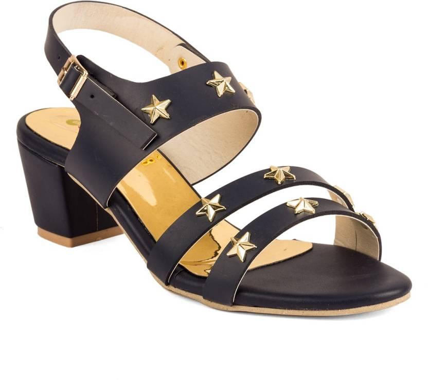 9ee0aa2dd Cute Fashion Women Blue Heels - Buy Cute Fashion Women Blue Heels Online at Best  Price - Shop Online for Footwears in India