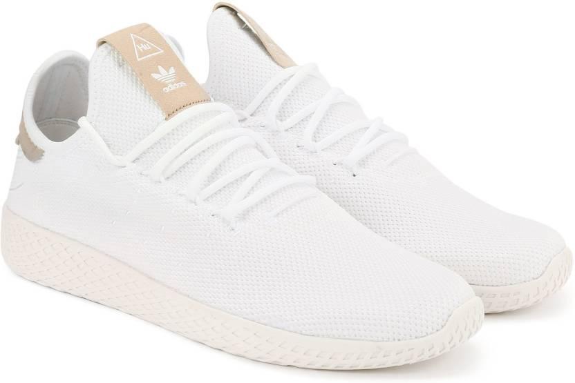sale retailer 80b86 2c64d ADIDAS ORIGINALS PW TENNIS HU Sneakers For Men (White)