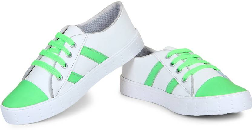20e98a63b8ab STEEMO Color Changing Sneakers Shoes For Women Sneakers For Women (Green)