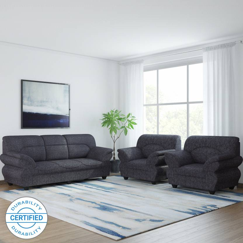 Dark Grey Sofa Set | Baci Living Room