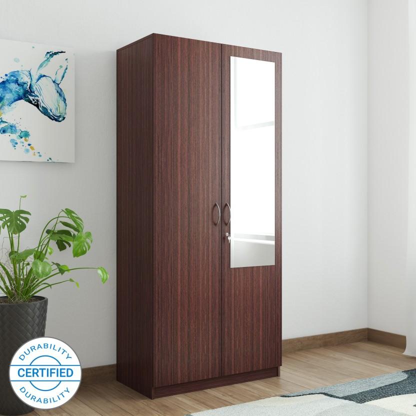 HomeTown Allen Engineered Wood 2 Door Wardrobe