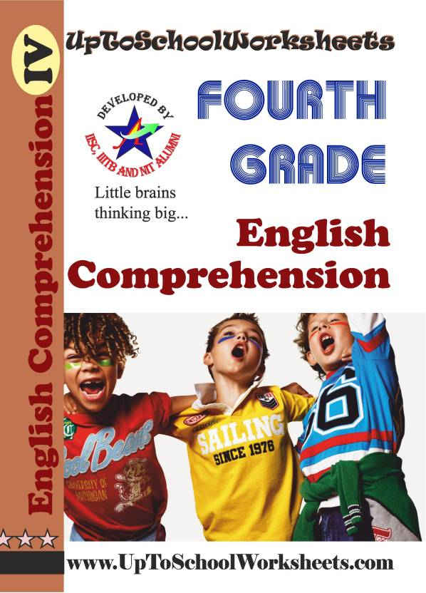 Class 4 English Comprehension Worksheets-CBSE/ICSE-With Answer Key