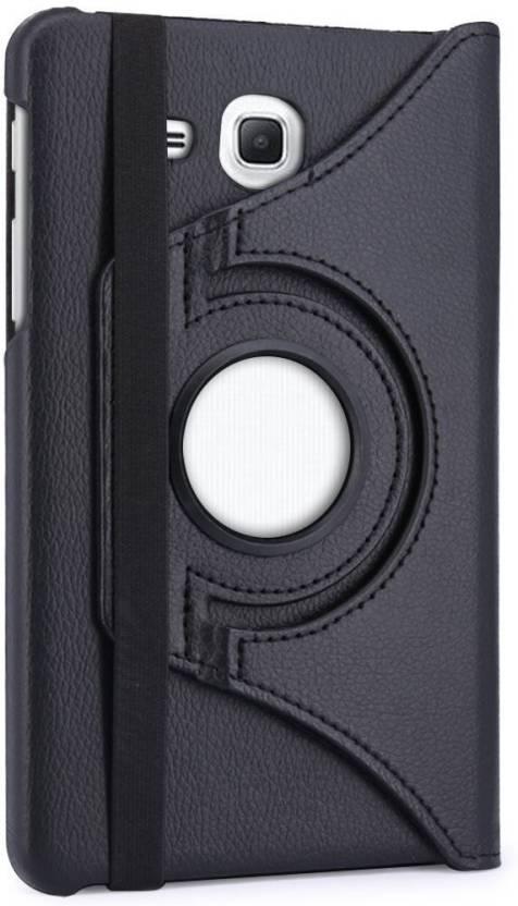 Celzo Flip Cover for Samsung Galaxy Jmax T285   J Max  Black
