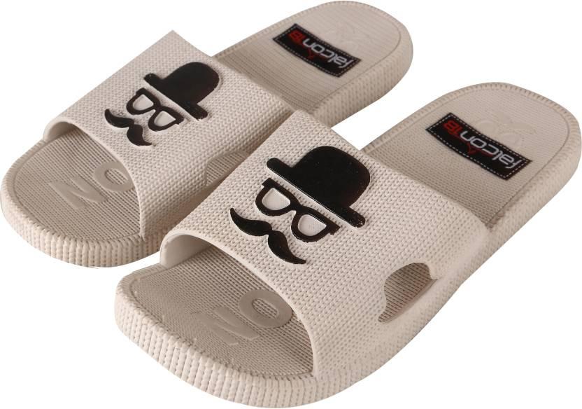 5836add6f5ba74 Falcon18 Falcon18 Women s Premium Quality Stylish and Designer Moustache  Flipflops and Slide Slippers Slides - Buy Falcon18 Falcon18 Women s Premium  Quality ...