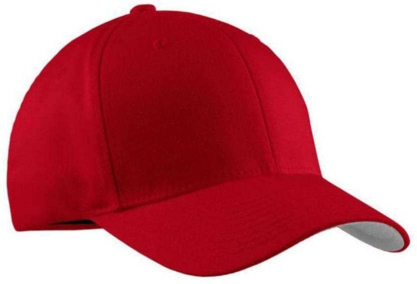 Goldstar Solid Red Cotton Plain Cap Cap - Buy Goldstar Solid Red ... dfddc44bf07b
