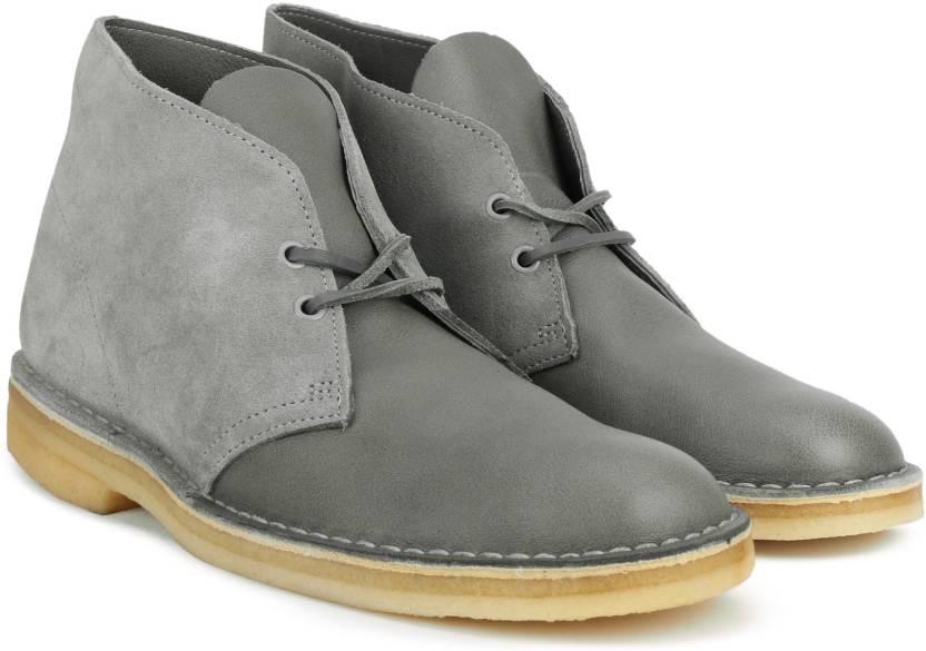 fe456af4 Clarks Desert Boot Storm Leather Boots For Men