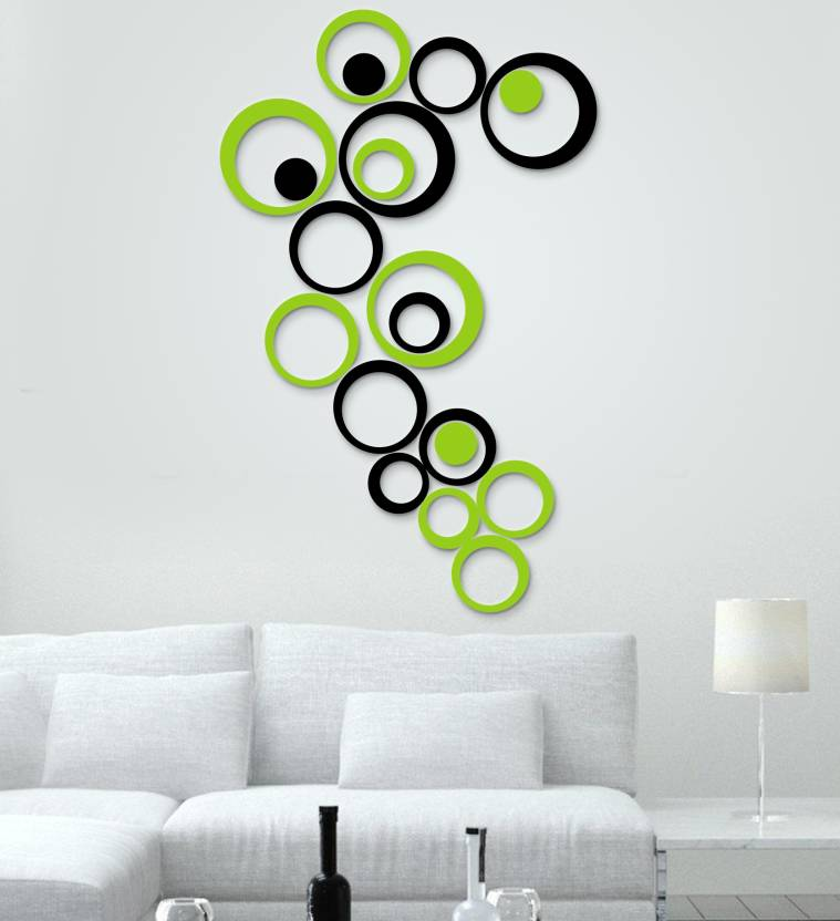 scotlon extra large hoop_3d wall sticker price in india - buy