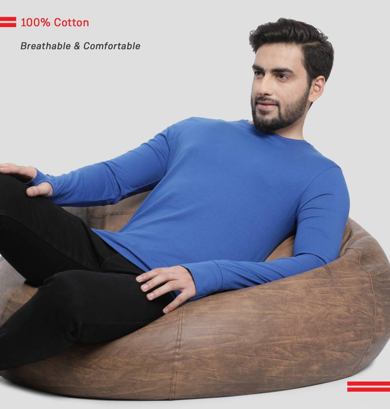 Billion PerfectFit Solid Men's T-Shirts Starting @ Rs.198