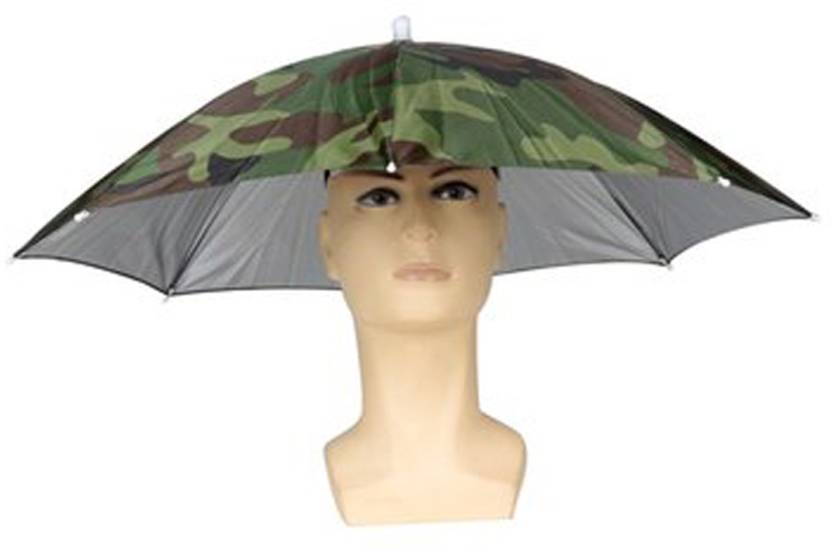 e699a961e6b9a ZANLURE Foldable Sun Umbrella Fishing Hiking Golf Camping Headwear Cap Head Hats  Outdoor Umbrella